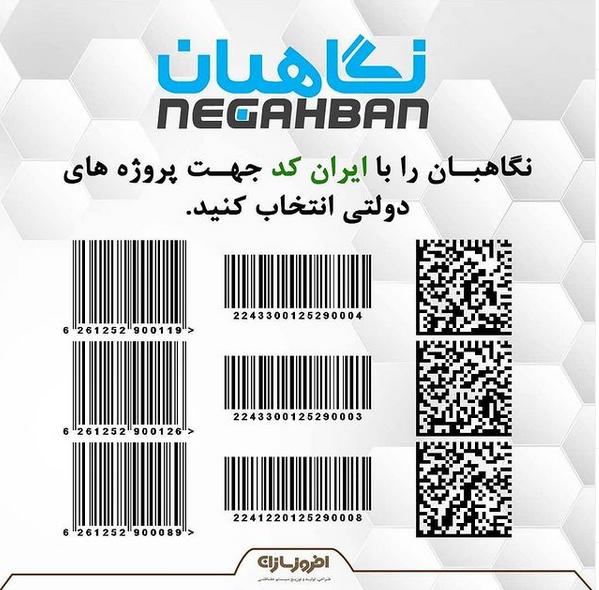 ایران کد دوربین های نگاهبان